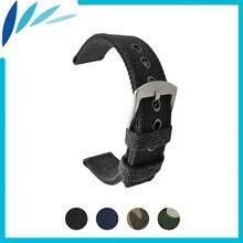 Ремешок нейлоновый для мужских и женских часов тканевый браслет
