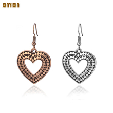 Diamon Hollow Earrings Fashion Europe And The United States Earrings Allergy Body Accessory Summer Women's Earrings europe and the united states simple fashion gold silver hollow six angle star bracelet hollow geometric bracelet female girl jew