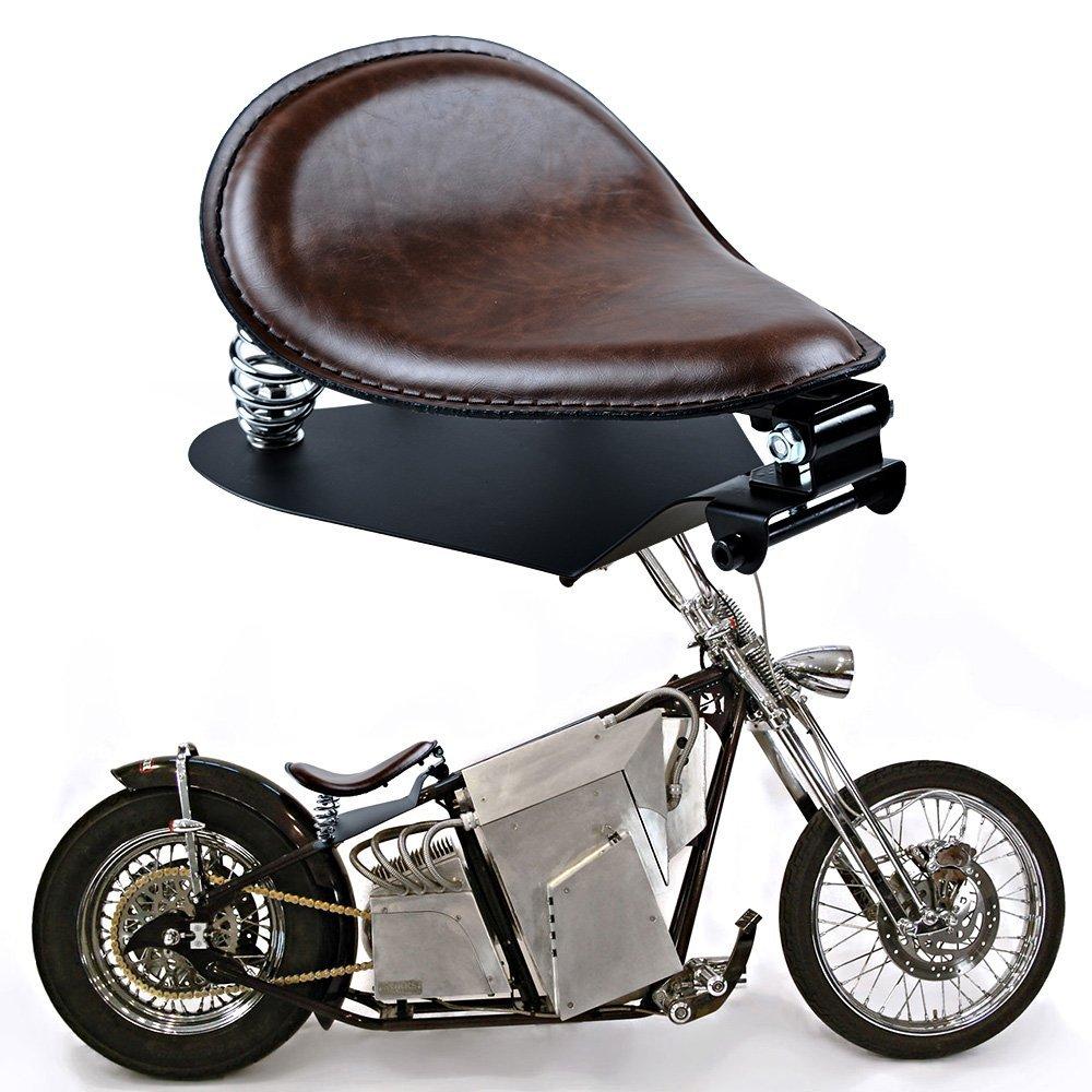 Driver Solo Seat& Mount Bracket for Yamaha V Star Kawasaki