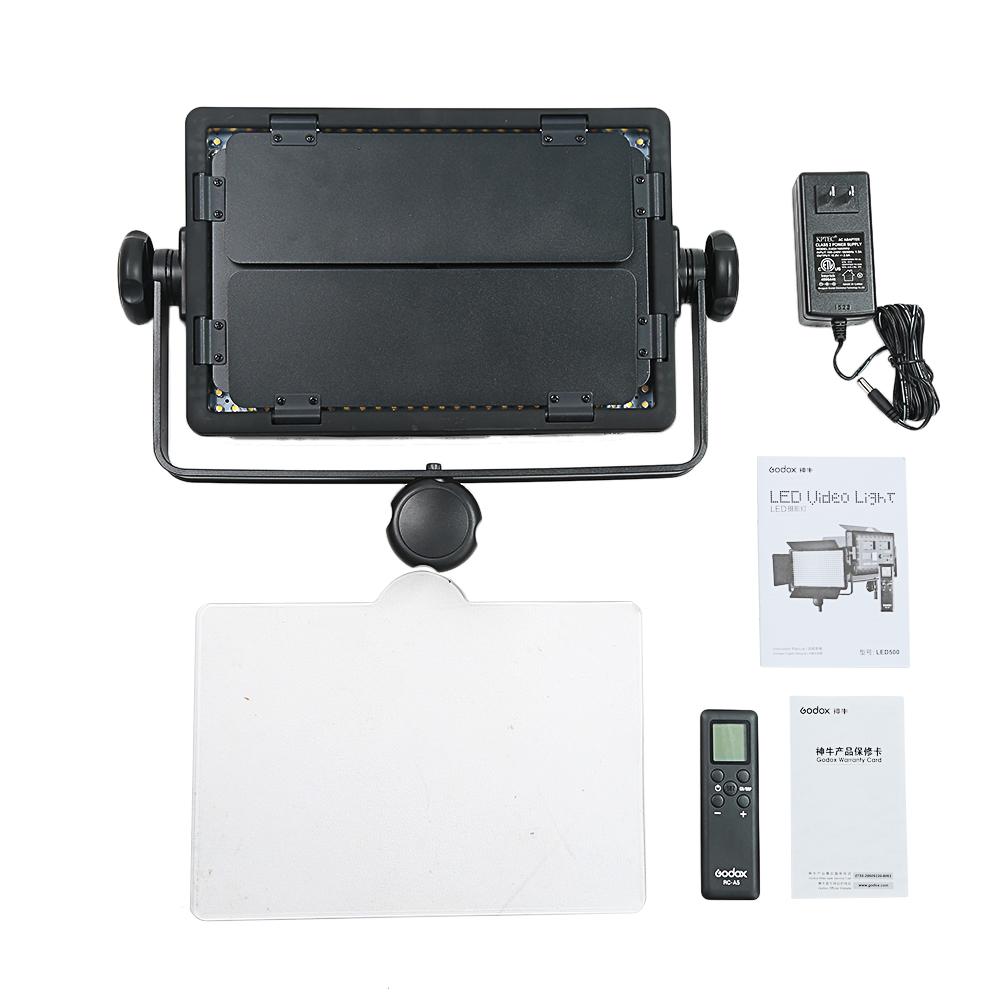 Godox LED500C 3300K~5600K Changeable Version LED Video Light (14)