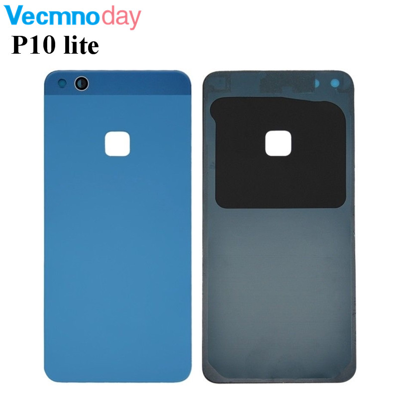Vecmnoday Original P10 lite Rear Battery Cover Case Back Door Back Housing Glass Battery Housing For Huawei P10 Lite