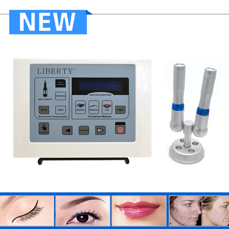 Professional Liberty eyebrow digital dermographe maquillage permanent permanent makeup tattoo machine kit with 50 pcs needle wm01 professional eyebrow tattooing machine kit