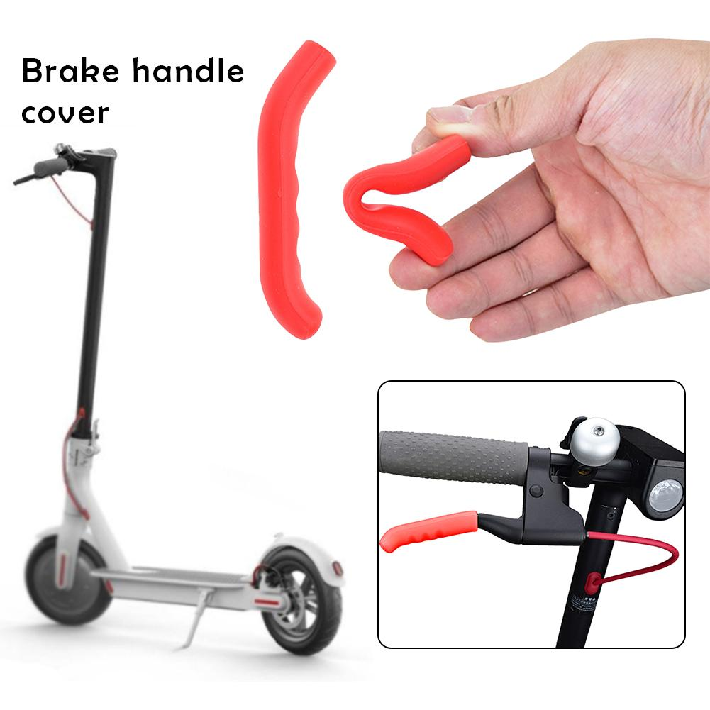 Universal Silicone Brake Cover For Xiaomi M365 Scooter Foot Support Sleeve Mountain Road Bike Cycling Brake Handle Protect Cover
