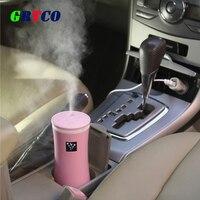 Essential Oil Diffuse Car Aroma Diffuser 230ML USB 5V 2W 3Colors Ultrasonic Mist Make Oil Diffuser