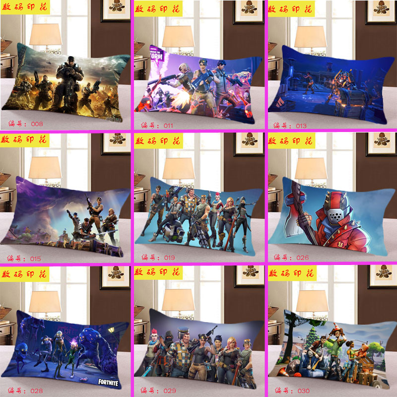 Fortnite Battle Royale Game Cafe Home Decorative Cushion Case Sofa Car Covers Long pillowcase with pillow
