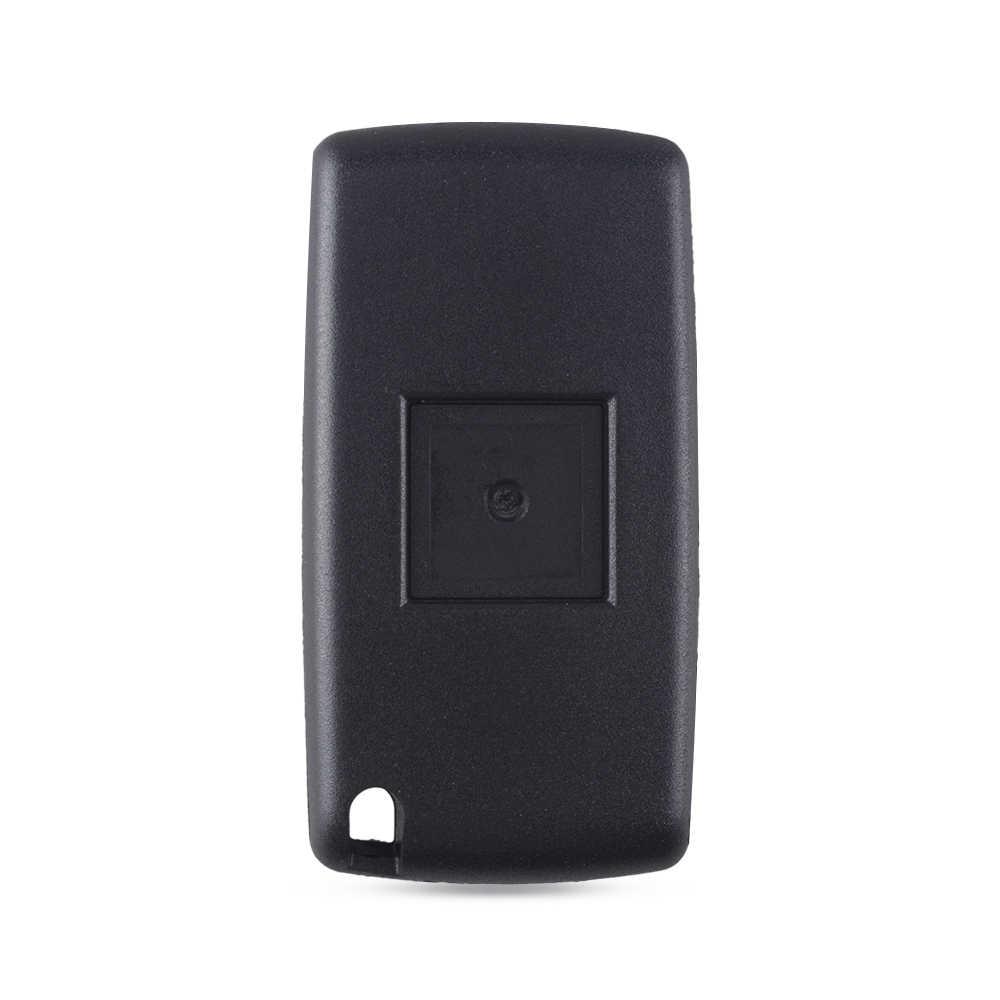 KEYYOU مفتاح بعيد قابل للطي مفتاح السيارة لبيجو 307 207 107 308 3008 407 407 607 سيتروين C2 C3 C4 C5 C6 C8 433MHz ID46 رقاقة