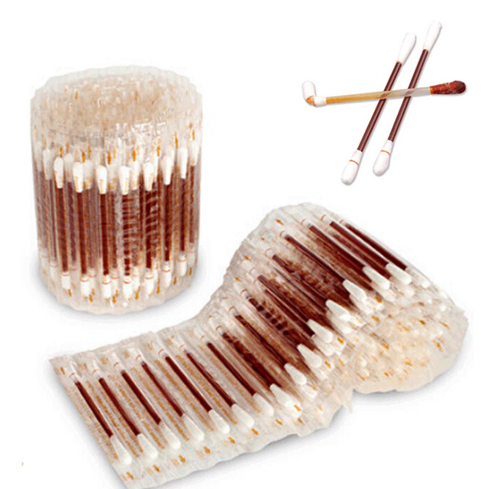 30pcs/pack piece Disposable medical iodine cotton stick iodine disinfected cotton swab climbing aid first aid kit supplies 0128 ...