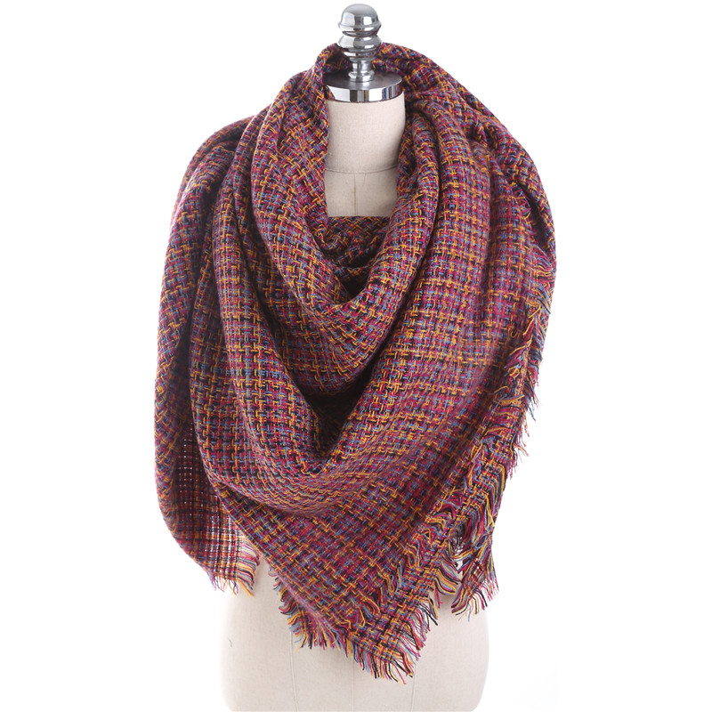 Luxury Brand Autumn Winter Fashion Scarfs