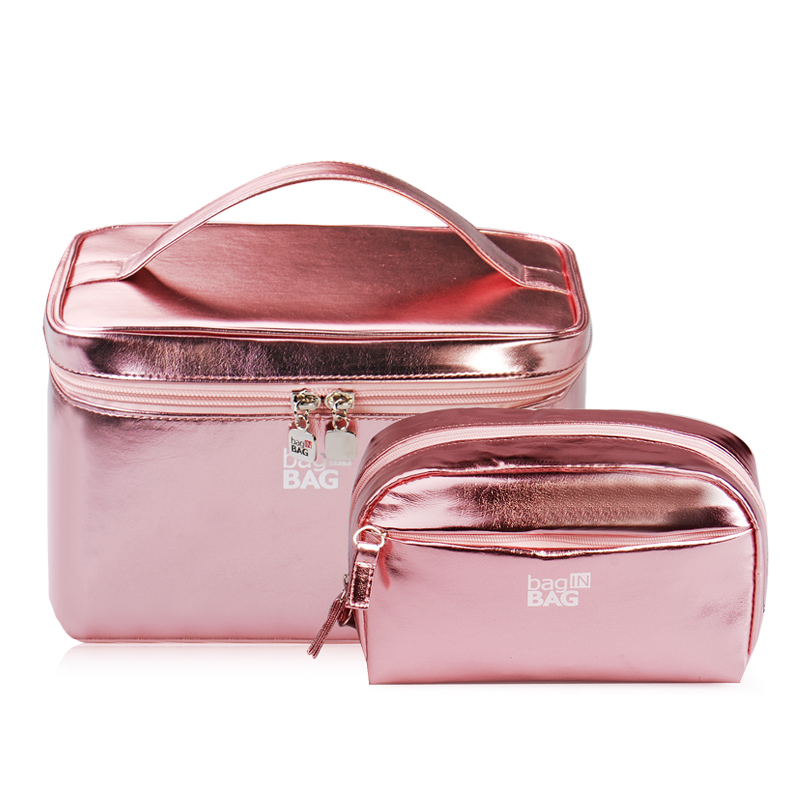 Cosmetics Bag Large Capacity Portable Receiving Box Hand Cosmetics Case Lady Waterproof Oiletry Bag Travel Professional