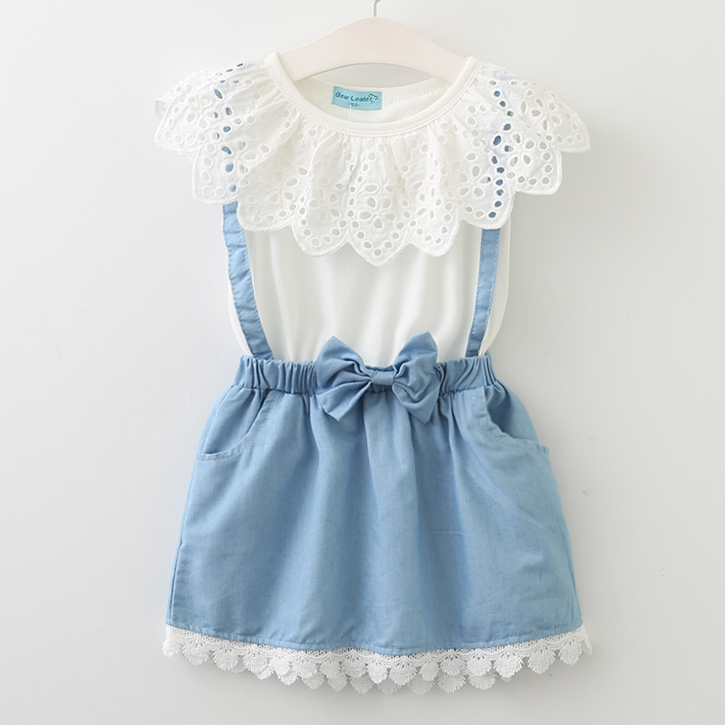 2018 New girls cute dress,white princess belt lace dress sleeveless cotton summer dress lovely baby girls clothes 3-7 Year Dress эдит пиаф edith piaf fais moi valser 2 cd