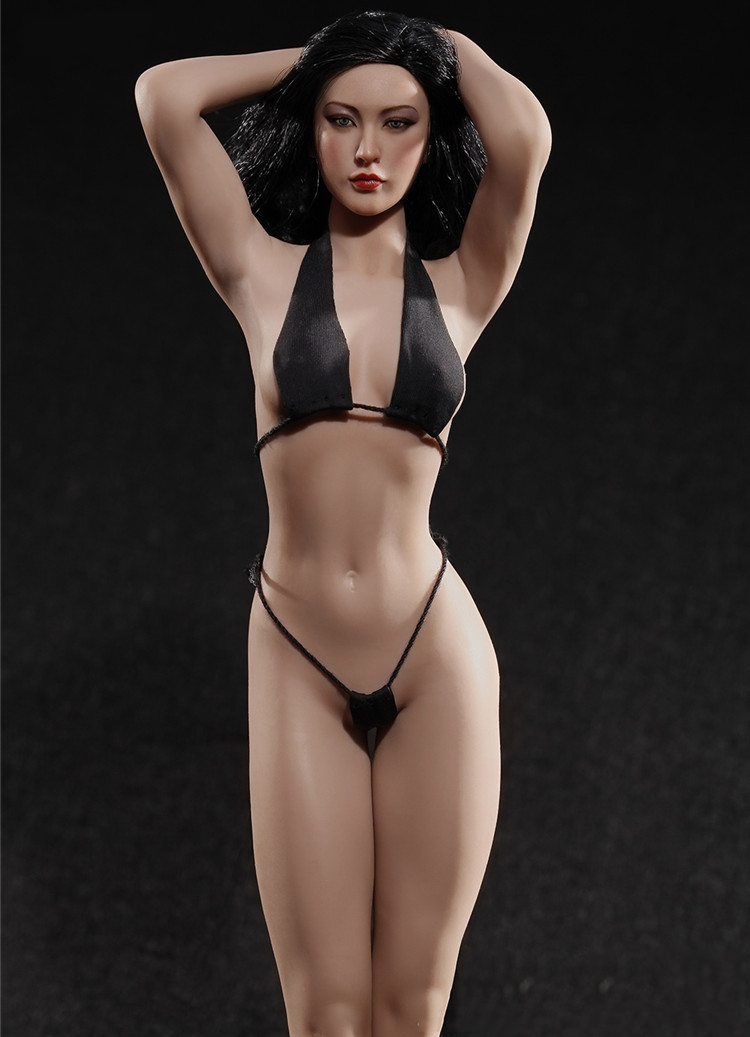 Phicen 1/6 PLMB2016-S17B Super Flexible Female Seamless Body Figure Soldier Action Figure 28 points of articulation with stainle