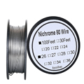 Нихромовый 80 провод 26 Калибр AWG нержавеющая сталь провод сопротивления 0 4 мм 100 футов использование высокая термостойкость/длительный срок ...