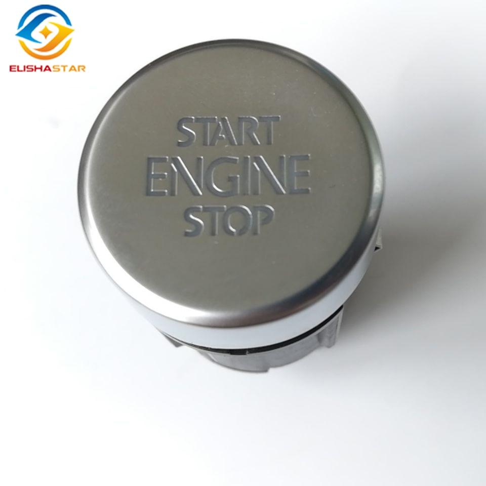 ELISHASTAR OEM Start Stop Bouton Interrupteur Pour VW Tiguan 2008-2016 Sharan 2011-2016 7N 5N0959839 5N0 959 839