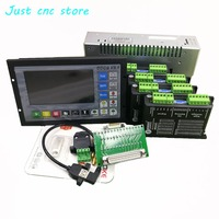 CNC mach3 USB 4 Axis Kit, 4pcs M542C driver+ DDCS V3.1 The controller +power supply