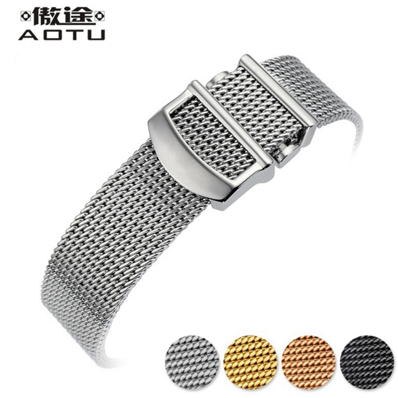 20MM/22mm Stainless Steel Watchbands For IWC Men Watch Mesh Bracelet Belt For Clock Male Watch Straps Top Quality Women Belt men s stainless steel watch straps for blancpain leman fifty fathoms clock strap women luxury watchband 20mm ladies bracelet page 1