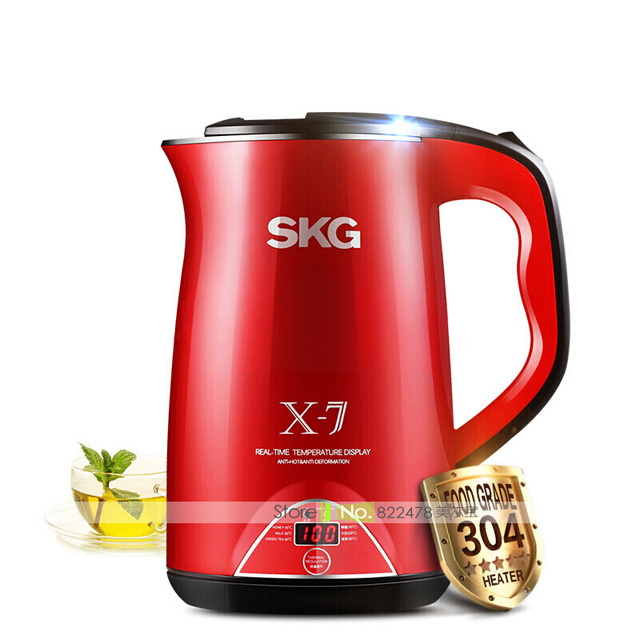 red 220v 1800w 1 7l intelligent temperature display insulate electric kettle stainless steel heat red 220v 1800w 1 7l intelligent temperature display insulate      rh   aliexpress com