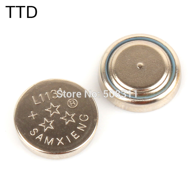 10pcs ag10 1 5 v batterie batteria a bottone ag10 389a for Batteria bottone lr1130