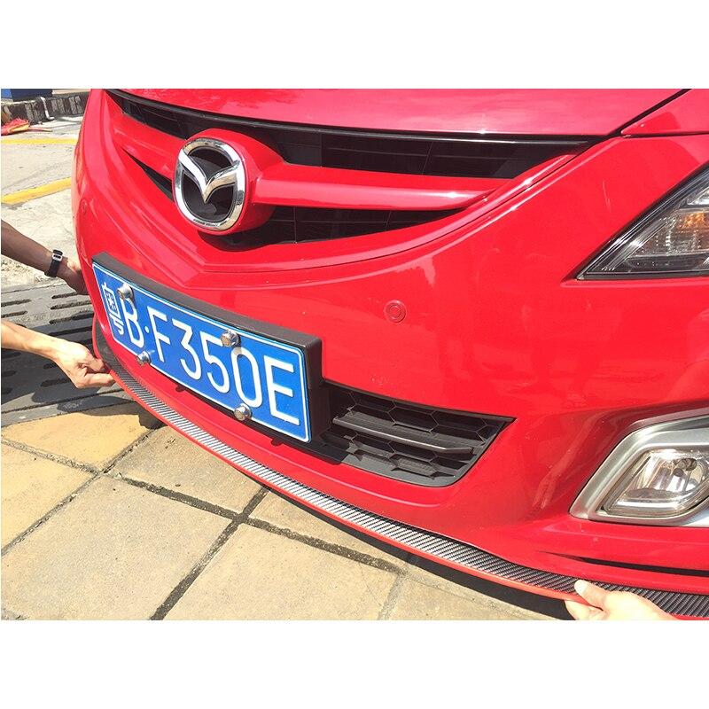Free shipping For Mazda 3 6 cx-5 cx5 cx-7 Front Bumper Lip Splitter Protector Body Spoiler Valance Chin