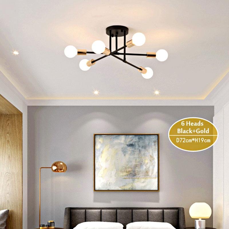 HTB1oY8jX3FY.1VjSZFnq6AFHXXas 6/8 Head LED Industrial Iron Ceiling Lamp Black/Golden European Minimalist Living Room Lighting 220V E27 Anti-Rust & Durable