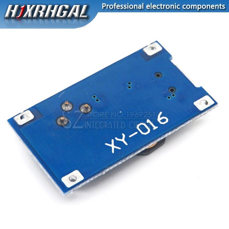 1 PCS DC-DC Einstellbar Boost Modul 2A Boost Platte 2A Schritt Bis Modul mit MICRO USB 2 V-24 V zu 5 V 9 V 12 V 28 V MT3608 LM2577