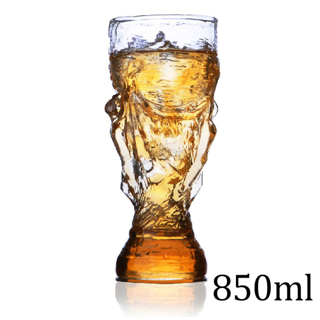 Creative Glass Cup Bar Crystal Water Whiskey Wine Drinking The Football Design Glass Wine Beer Cup 850ml