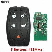 QCONTROL Car Remote Smart Key 433MHz DIY For Land Rover For Range Rover Freelander 2 LR2