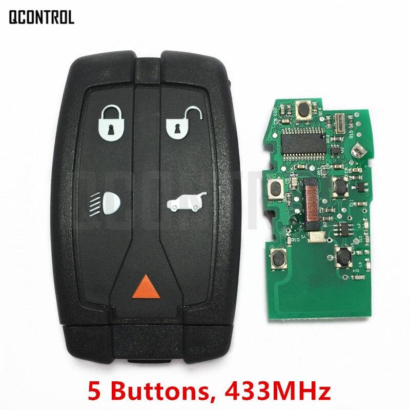 QCONTROL Car Remote Smart Key 433MHz DIY for Land Rover for Range Rover Freelander 2 LR2 Sport