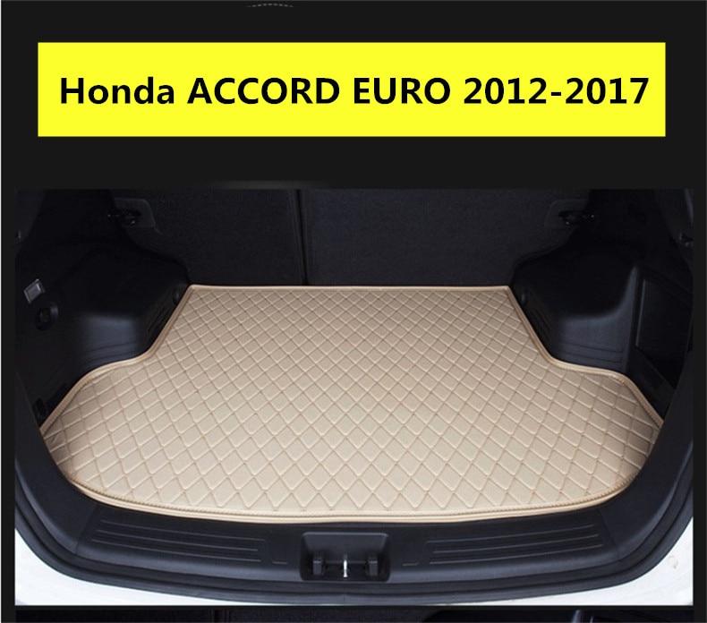 New Honda Pilot >> For Honda ACCORD EURO 2012 2017 Cargo Liner Trunk Mats ...