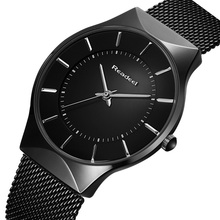 Top Fashion Classic Watches Men Luxury Brand Quartz Sport Watch Watchcase Ultra Thin Stainless Steel Mesh Belt Relogio Masculino цена