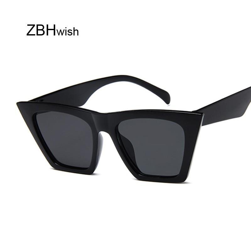 Fashion Square occhiali da sole donna Designer Luxury uomo/donna Cat Eye occhiali da sole Classic Vintage UV400 Outdoor Oculos De Sol 2