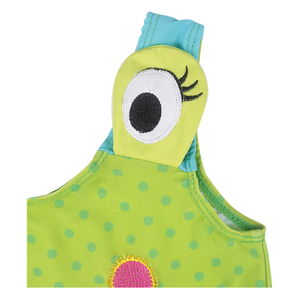 Fashional Cute The Frog Prince Age 3-10 Baby Girls Cotton Knit - Carnavalskostuums - Foto 3