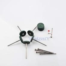 10Pcs Rubber Polishing Wheels Dental Jewelry & 10Pcs Shank Mandrel Rotary Tool Dental Equipment