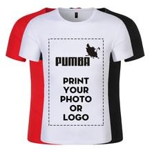 76f20e329440 Criar O Seu Próprio Macio Algodão De Seda T-shirt Feitos Sob Encomenda do  Projeto e Logotipo da Impressão de Fotos Para A Empres.