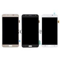 100 Tested Super AMOLED For Samsung J7 Neo 2017 LCD J701F J701M J701 Display LCD Screen