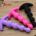 3 colors optional Adult Anal Sex Toy Butt Pulg Toy Sexy Products For Women G-spot Silicone Stimulator Anal Bead Plug