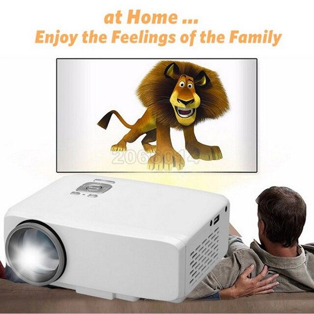 Оригинал GP9S 500 люмен Портативный Мини ПРИВЕЛО проектор для домашнего Кинотеатра Мультимедиа Видеопроектор PC USB SD АУДИО-ВИДЕО HDMI цифровой тв-Проектор DVB-T