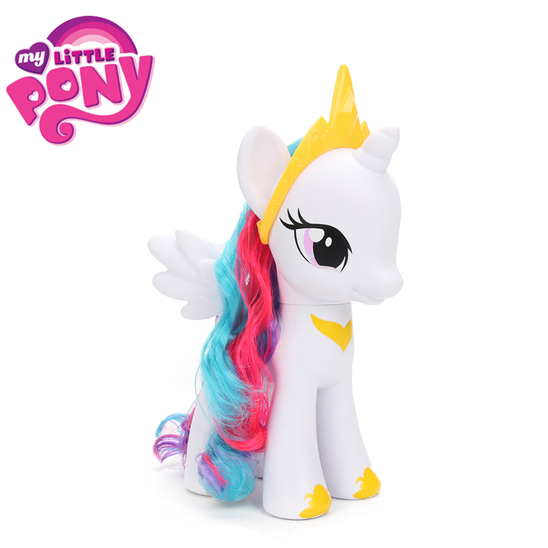 My Little Pony Toys 8inch Friends Princess Rainbow Dash Twilight Sparkle Cadance Celestia Action Figure Collection Model Dolls my little pony toys the movie princess cadance celestia pvc action figure friendship is magic model doll glitter celrbration