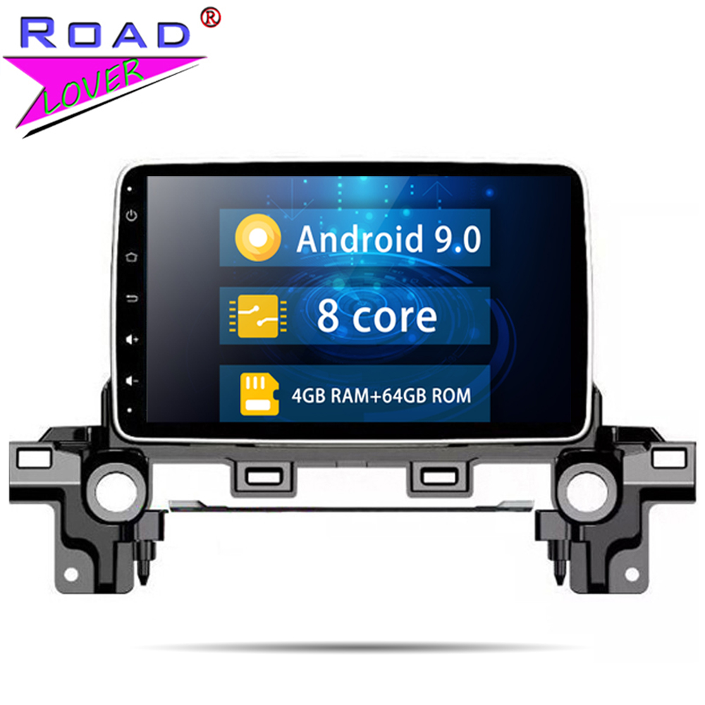 Autoradio Android 9.0 Car Radio For <font><b>Mazda</b></font> CX-5 <font><b>CX5</b></font> Atenza Stereo GPS <font><b>Navigation</b></font> Automagnitol 2 Din Car Multimedia Player image