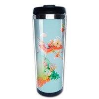 Migliore caldo donne tazas in acciaio inox bicchiere di caffè tazza di viaggio caneca Tazze da tè