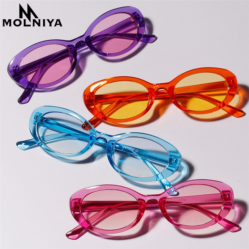 MOLNIYA Small Oval Sunglasses Ms. 2018 Designer High Quality Cool - Kledingaccessoires - Foto 2