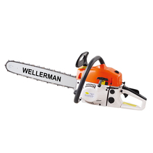 купить 20 Inch 52 CC 2200W Professional Gasoline Chain Saw with Air Cooled Single Cylinder 2 Stroke онлайн