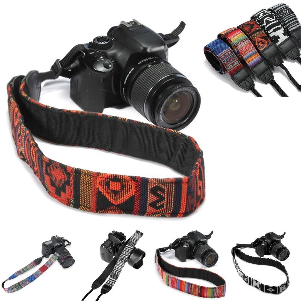 Retro Vintage Hippie Style SLR DSLR Camera Neck Shoulder Strap Belt Classic Retro for Canon Nikon Sony NEX Pentax Panasonic Hot