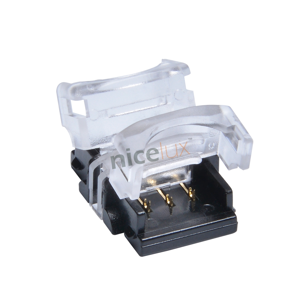 New 10pcs Scotch Lock Quick Splice Wire Wiring Connectors For 1 Line Connect Lot 3pin Connector 10mm 5050 5630 Waterproof Dual Color Led Strip To Connection Conductor Terminal Blocks