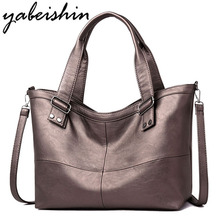 Brand Women Leather luxury Handbags Women Bags Designer High Quality Shoulder Crossbody Bags Casual Shopping Bag Women Big Tote цена в Москве и Питере