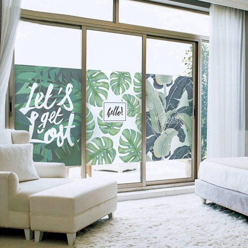 Nordic grit, electrostatic glass, film, toilet, office window, bedroom window, sticker, bathroom glass paper