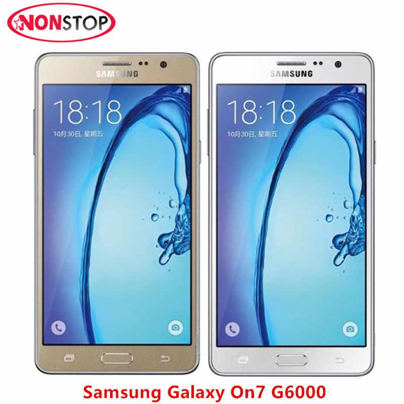 Samsung Galaxy On7 G6000 Ban Đầu Mở Khóa Điện Thoại Di Động 8 GB/16 GB ROM 13MP Camera Quad Core Samsung Galaxy On 7 điện thoại di động