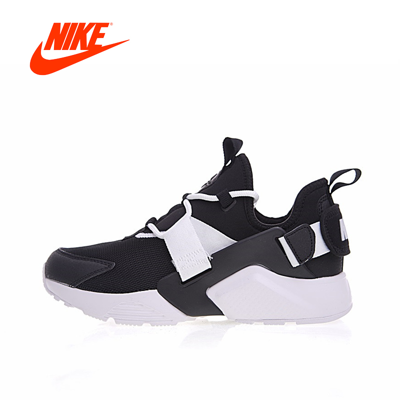 Original New Arrival Authentic Nike Air Huarache Womens Running Shoes Sneakers Breathable Sport Outdoor Good Quality AH6804 original new arrival official nike air huarache city low women running shoes outdoor sports shoes ah6804