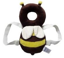 Бесплатная доставка! JJ OVCE для защиты головы площадки/Шаг Коврик маленькие пчелы учиться сидеть после аварии подушки детские пчелы pad babyfond