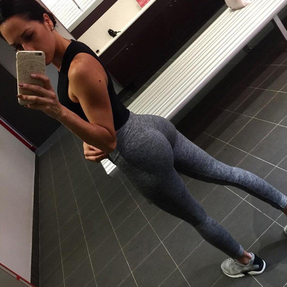 gran colección precio al por mayor verdadero negocio US $0.01 20% OFF|Hot Women High Waist Yoga Pants Fitness Leggings Running  Gym Stretch Sports Pants Trouser Sport Workout Mujer Ropa Deportiva on ...