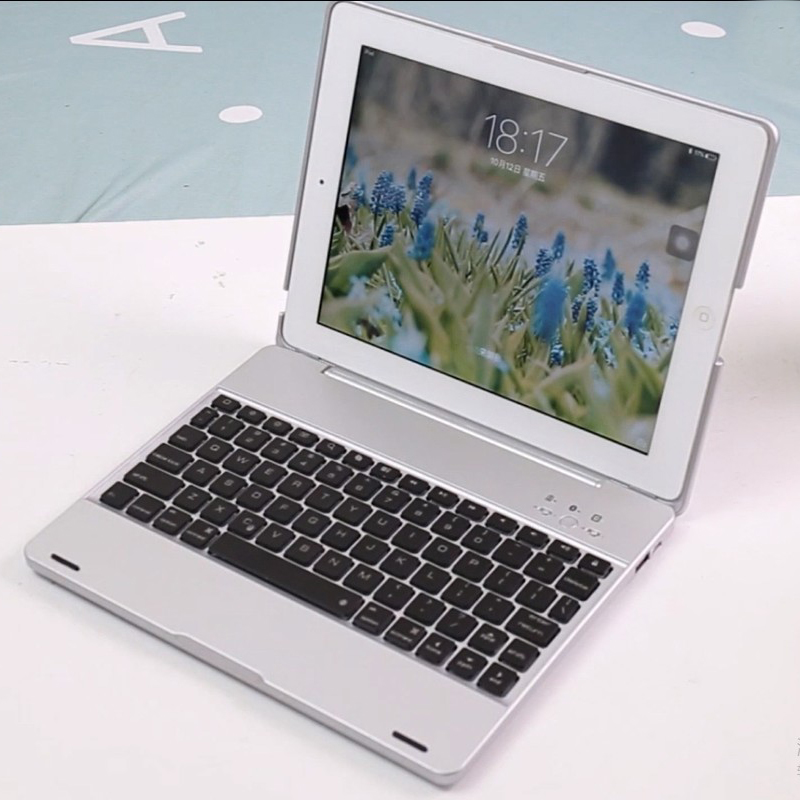 2f77638bf84 Wireless Bluetooth Keyboard For Ipad 2 3 4 Case Cover Protective Portable  Keyboard Case For Ipad ...
